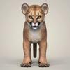 18 26 03 415 photorealistic cougar cub 02 4