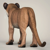 18 26 07 444 photorealistic cougar cub 04 4
