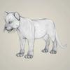 18 26 12 500 photorealistic cougar cub 07 4