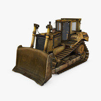 Bulldozer D9T 3D Model