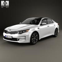 Kia K5 MX with HQ interior 2016 3D Model