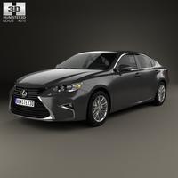 Lexus ES 2015 3D Model