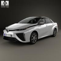 Toyota Mirai with HQ interior 2014 3D Model
