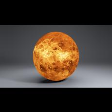 Venus 8k Globe 3D Model