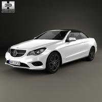 Mercedes-Benz E-Class convertible 2014 3D Model