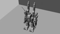 SDF-1 Robot 3D Model