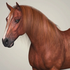 10 32 50 154 photorealistic brown horse 02 4