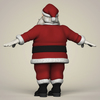 10 45 19 590 cartoon santa claus 04 4