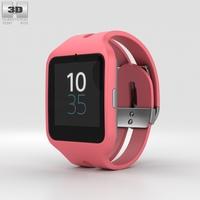 Sony SmartWatch 3 SWR50 Pink 3D Model
