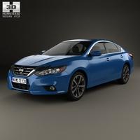 Nissan Altima SR 2015 3D Model