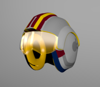 Star Wars Luke Skywalker`s helmet 3D Model