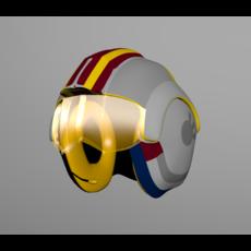 Star Wars Luke Skywalker`s helmet 3D Model