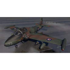 BAC 167 Strikemaster Mk-88 3D Model