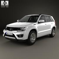 Suzuki Grand Vitara 5-door 2012 3D Model