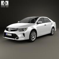 Toyota Camry Elegance Plus (CIS) 2014 3D Model