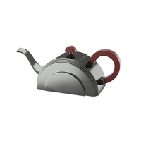 Art deco teapot 3D Model