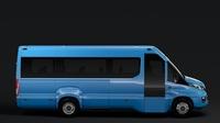 Iveco Daily Tourus L4H2 2017 3D Model