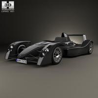 Caparo T1 2007 3D Model