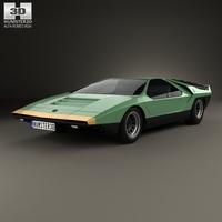 Alfa Romeo Carabo 1968 3D Model