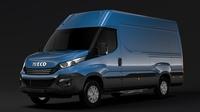 Iveco Daily Van L3H2 2017 3D Model