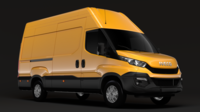 Iveco Daily Van L3H3 2014 2016 3D Model