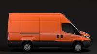 Iveco Daily Van L3H3 2017 3D Model