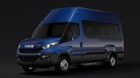 Iveco Daily Minibus L3H3 2014 2016 3D Model