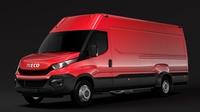 Iveco Daily Van L4H2 2014 2016 3D Model