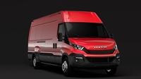 Iveco Daily Van L4H2 2017 3D Model