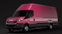 Iveco Daily Van L4H3 2017 3D Model