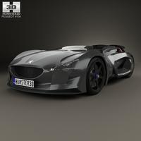 Peugeot EX1 2010 3D Model
