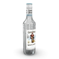 Captain Morgan White 50cl Bottle 3D Model