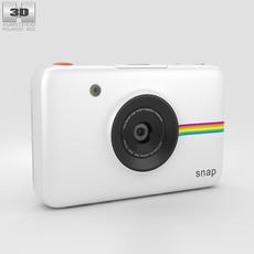 Polaroid Snap Instant Digital Camera White 3D Model