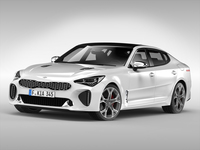 Kia Stinger GT (2018) 3D Model