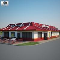 McDonald's Restaurant 03 3D Model