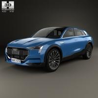Audi E-tron Quattro 2015 3D Model