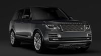 Range Rover SV Autobiography L405 2018 3D Model