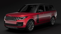 Range Rover SVAutobiography Dynamic L405 2018 3D Model