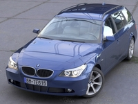 BMW 5 Series Touring 2006 3D Model