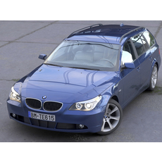 BMW 5 Series Touring 2006 3D Model