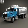 18 04 48 132 peterbilt 348 dump truck 2006 600 0001 4