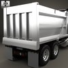 18 04 48 951 peterbilt 348 dump truck 2006 600 0007 4