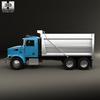 18 04 49 227 peterbilt 348 dump truck 2006 600 0005 4
