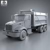 18 04 49 592 peterbilt 348 dump truck 2006 600 0011 4