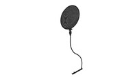 Pop filter - rigged 3D Model
