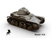 Renault R-35 3D Model