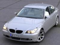 BMW 5 Series Sedan 2006 3D Model