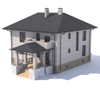 Cottage 3D Model