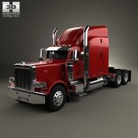 Peterbilt 389 Tractor Truck 2007 3D Model