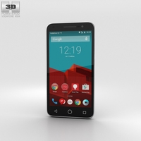 Vodafone Smart Prime 6 Gray 3D Model